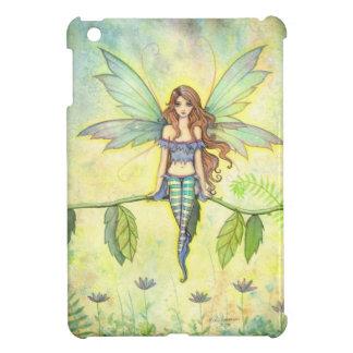 Green Garden Fairy Fantasy Art by Molly Harrison iPad Mini Case
