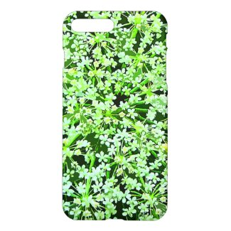Green Garden Flowers Floral iPhone 7 Plus Case