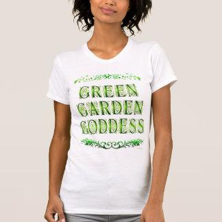 Green Garden Goddess Saying Funny T-shirt