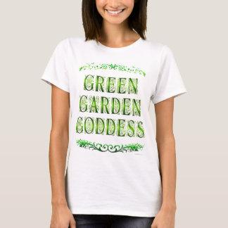 Green Garden Goddess Saying Tee