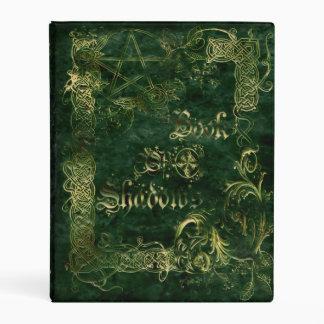 🔮Green Garden Medieval Witches Book Of Shadows Mini Binder