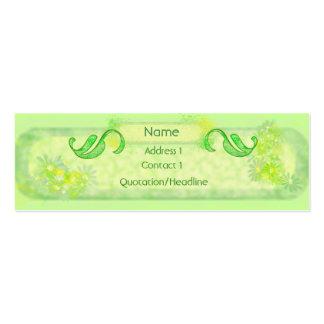 Green Garden Profile / Busines Card Business Cards