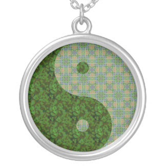 Green Garden Yin Yang Custom Jewelry