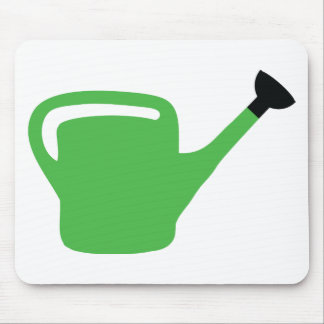 green gardener watering can mouse pads