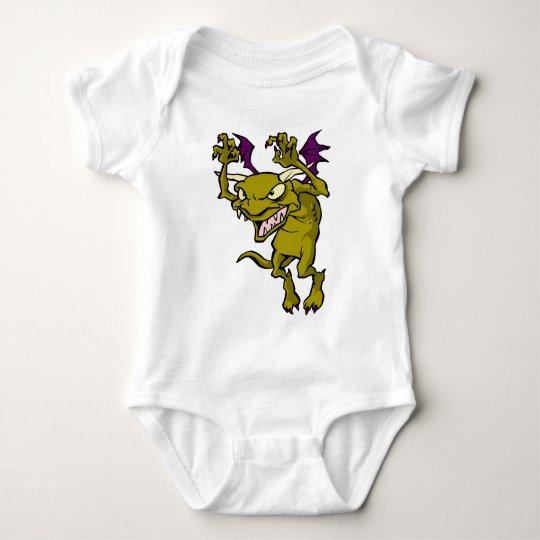 Green Gargoyle Baby Bodysuit