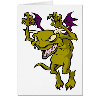 Green Gargoyle Card