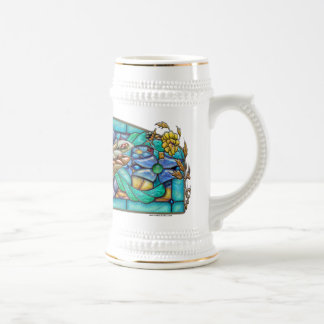 Green Gate Dragonfly - Beer Stein