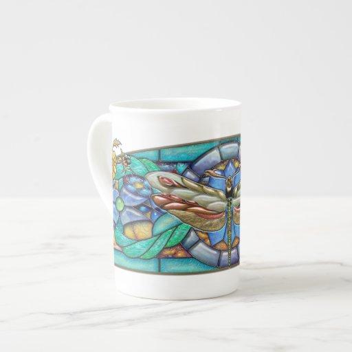 Green Gate Dragonfly - Bone China Mug Tea Cup
