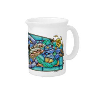 Green Gate Dragonfly - Porcelain Pitcher