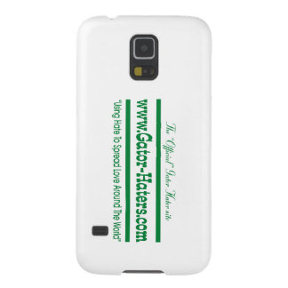 Green Gator Hater Banner Case For Galaxy S5