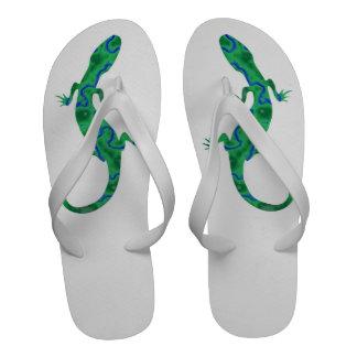 Green Gecko Sandals