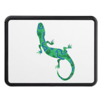 Green Gecko Hitch Cover