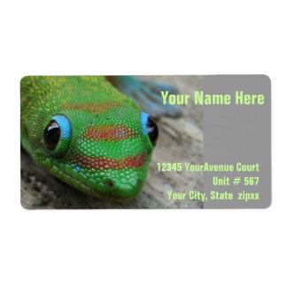 Green Gecko Label