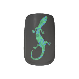 Green Gecko Minx ® Nail Wraps