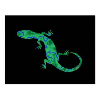 Green Gecko Postcard