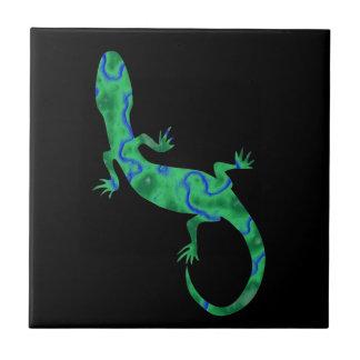 Green Gecko Tile