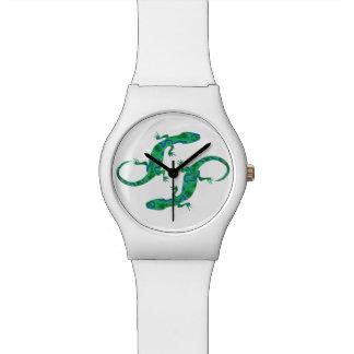 Green Gecko Wrist Watch
