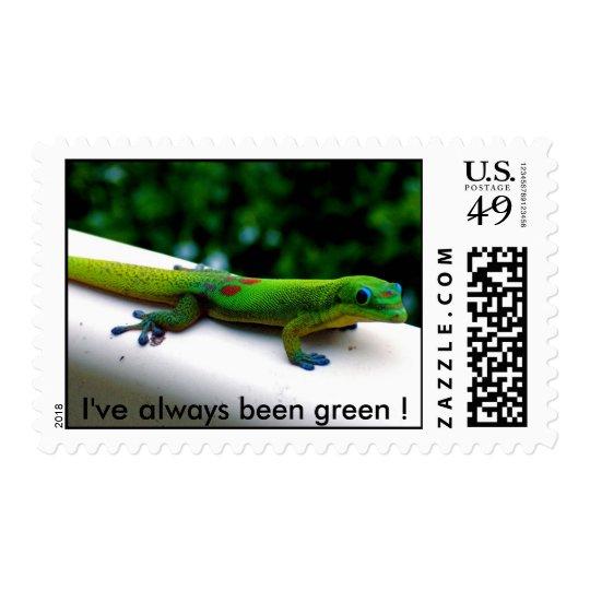 Green Geckos Postage