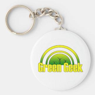 Green Geek - Keychain