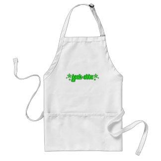 Green Geekette Adult Apron