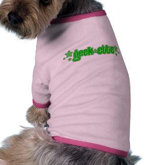 Green Geekette Doggie T-shirt