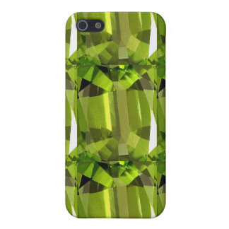 green gem stone iPhone SE/5/5s cover