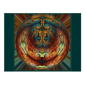 Green Genie Sphere Postcard