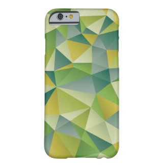 Green Geometric Barely There iPhone 6 Case