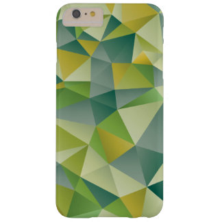 Green Geometric Barely There iPhone 6 Plus Case