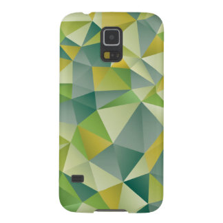Green Geometric Cases For Galaxy S5