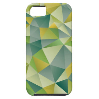 Green Geometric iPhone 5 Cases