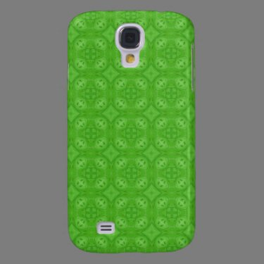 Green geometric wood pern galaxy s4 covers