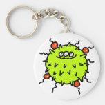 Green Germ Keychain