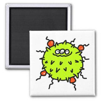 Green Germ Magnet