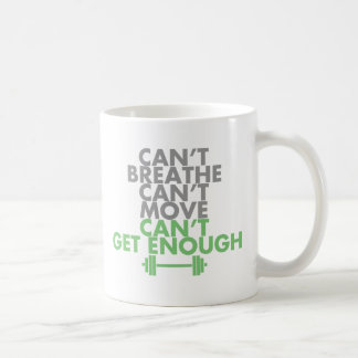 "Green ""Get Enough"" Coffee Mug"