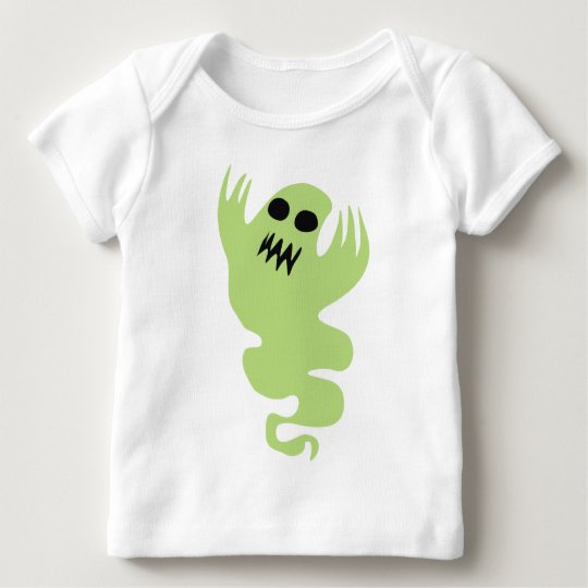 Green Ghost Baby T-Shirt