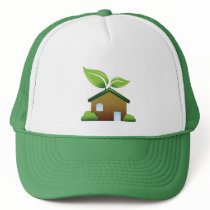 Green gifts trucker hat