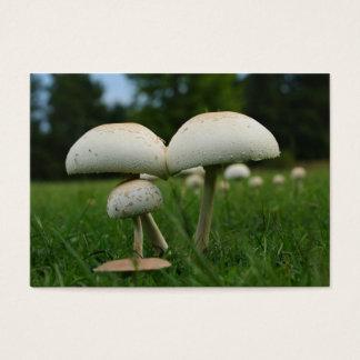 Green Gill Mushroom Business Card