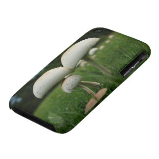 Green Gill Mushroom iPhone 3 Cases
