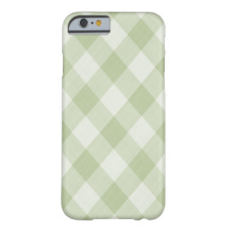 Green Gingham Digital Art Phone Case