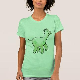 Green Giraffe Shirt, Sweatshirt or Infant Bodysuit