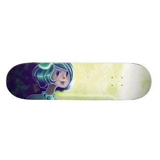 Green Girl Deck Skateboard