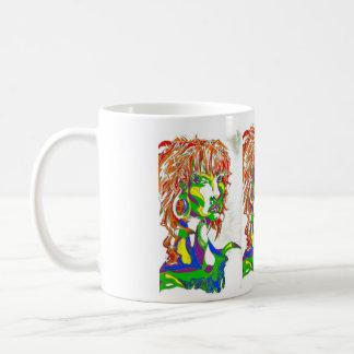 Green Girl Mug