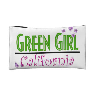 Green Girl Recycle Bagettes Bag Cosmetic Bag