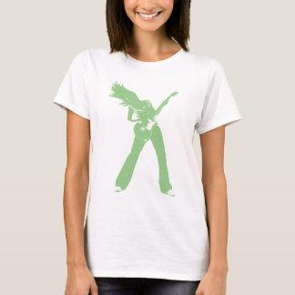 Green Girl Rock T-Shirt