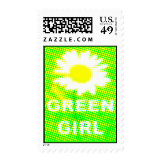 Green Girl Stamps