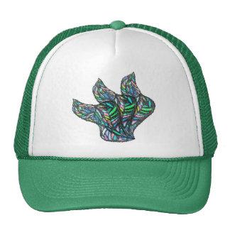 Green Glass Flow Trucker Hat