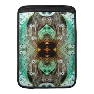 Green Glass Gold Eye Abstract MacBook Air Sleeve