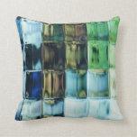Green Glass Pillow