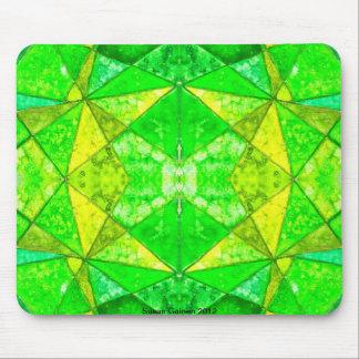 Green Glaze Tile Mousepad